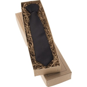 Mrs Bow Tie Satin Junior Ready-Tied Tie - Black 2-5 Years