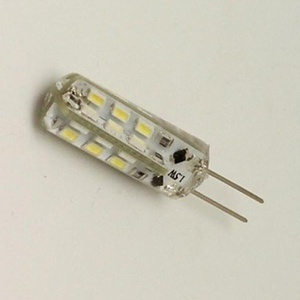 1.5W G4 LED Corn Lights 24 SMD 3014 80 lm Warm White Decorative DC 12 V 1 pcs ( Light Source Color : Warm White )