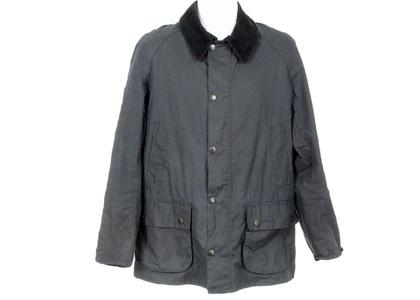 J Crew Crewcuts Kids' Barbour Bedale Jacket S 6/7 Yrs B1908 $249 Black Coat