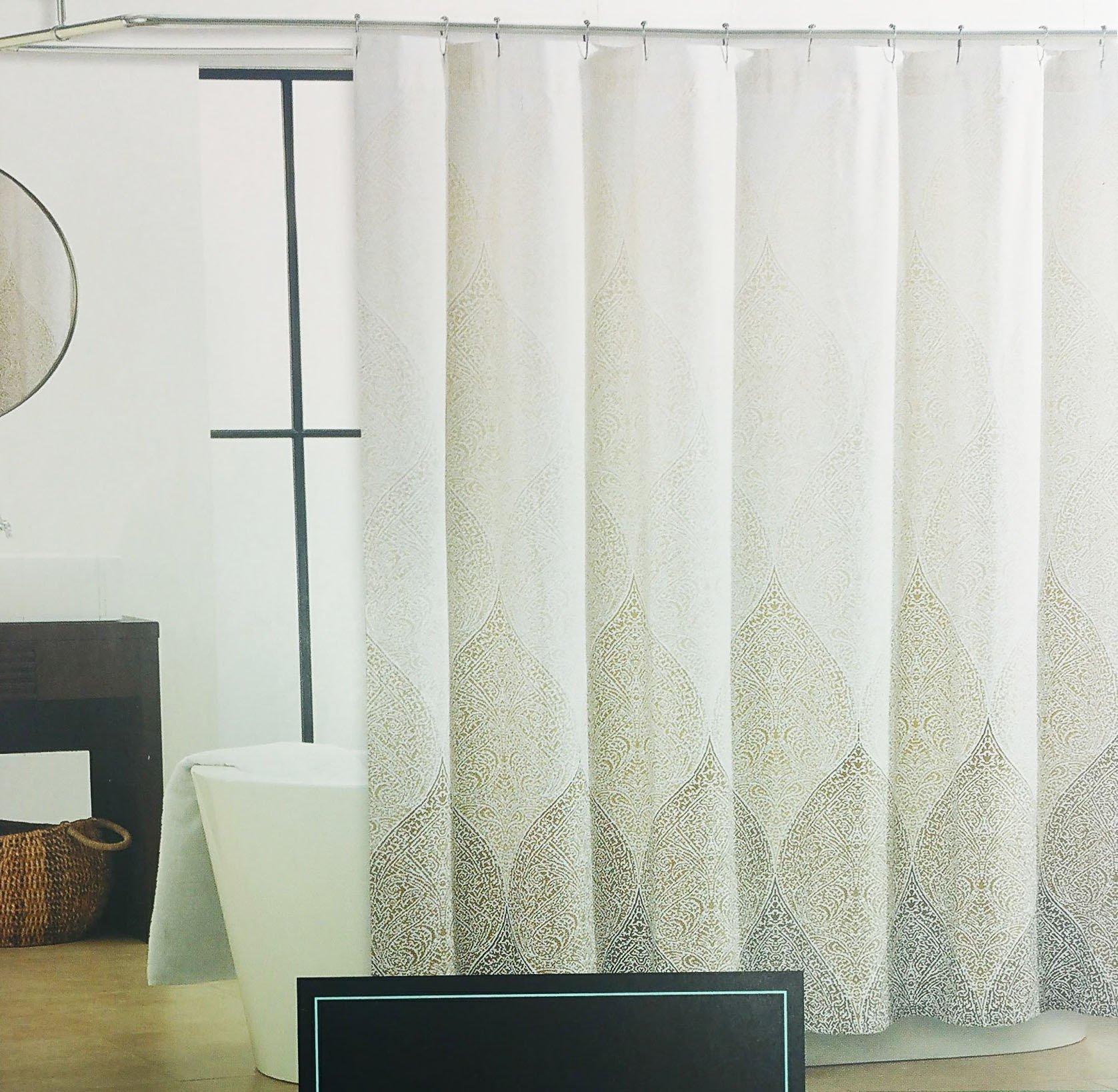 Cynthia rowley medallion shower curtain - Cynthia Rowley Floral Shower Curtain