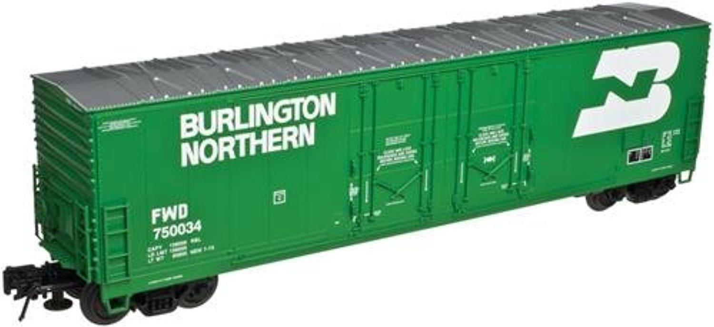 Atlas Ho Scale Evans 53' Double Plug-Door Boxcar Burlington Northern/Bn  #750002