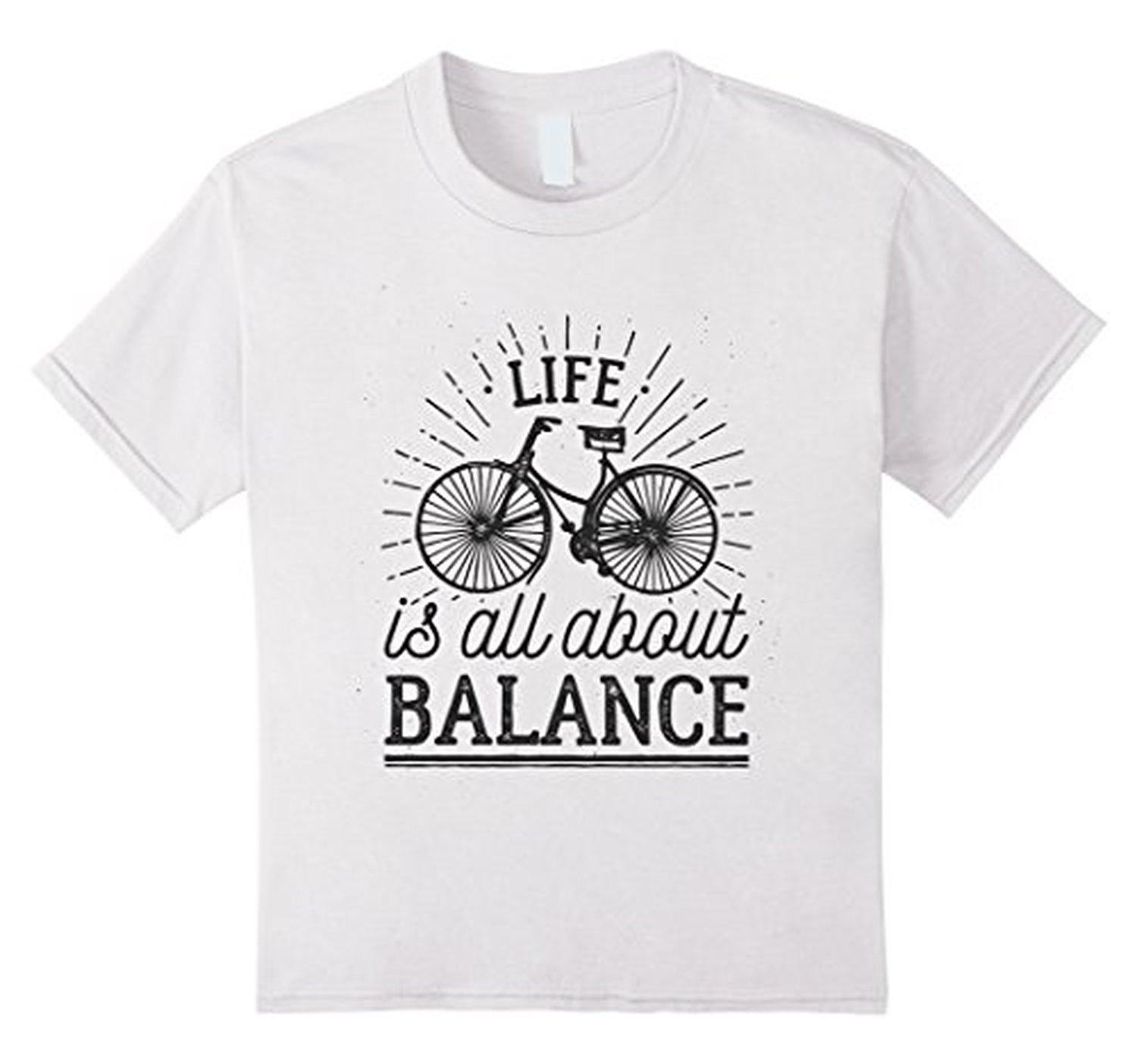 Online Store Kids Life Is All About Balance Inspirational Quote T