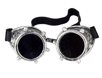 New Sell Vintage Steampunk Goggles Cyber Punk Gothic Welding Glasses