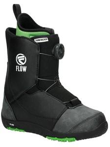 Flow Micron Boa Kids Snowboard Boots 2017 - 2.0/Black