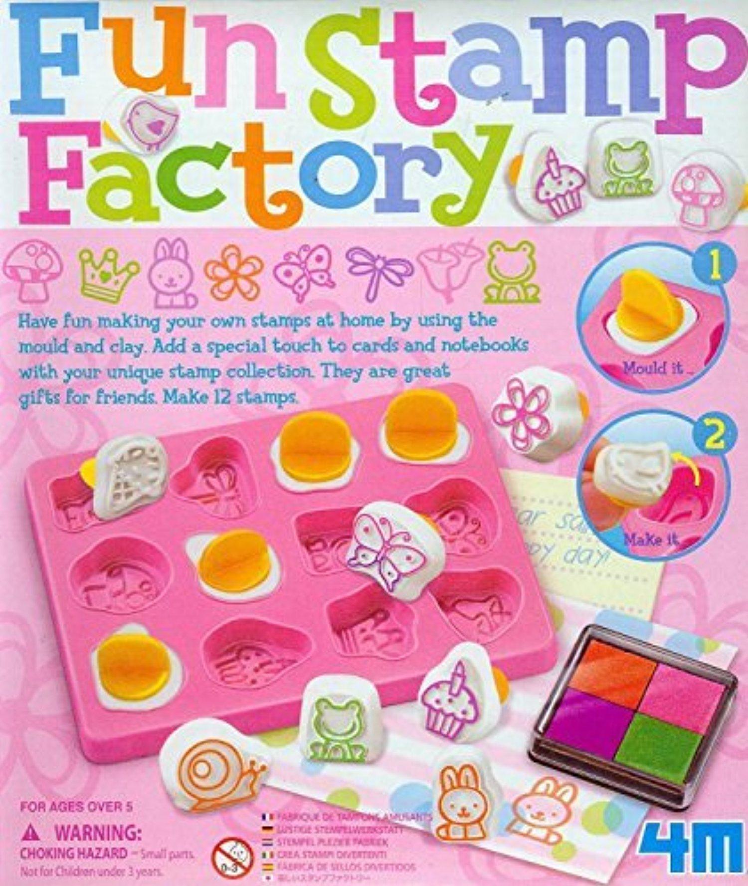 line Store Fun Stamp Making Kit Girls Girl Child Kids